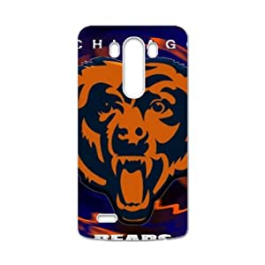HWGL Chicago Bears Fashion Comstom Plastic case cover For LG G3