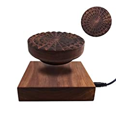 Features: Good Gift & Decoration Display Items' Weight Various Usages Revolve 360 DegreesSpecification: Colors: Dark Walnut Wood, Base's Size: Around 4.65 x 4.65 x 1.1inch(LxWxH) Ornament's Size: Around 3.85 x 3.5inch(D x H) Floating dist...