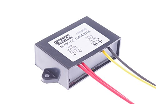 SMAKN® AC/DC TO DC Converter AC 16-28V/DC 16-40V Step Down to 12V/5A Power Supply Module