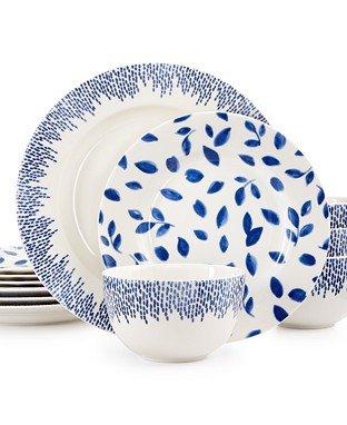 [Martha Stewart Collection Stockholm Dinnerware Collection 12-Pc. Set, Service for 4] (Martha Stewart Dish)