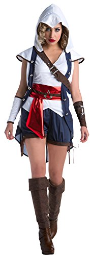 Womens Halloween Costume- Connor Adult Costume Large