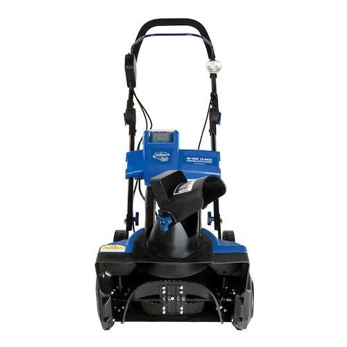 Snow Joe ION18SB-GRN-RM 40V Cordless Lithium-Ion 18″ Snow Blower, Green (Certified Refurbished)