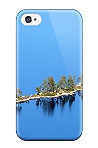 Perfect Fit GQiSkGq3610EUSxx Island Case For Iphone - 4/4s
