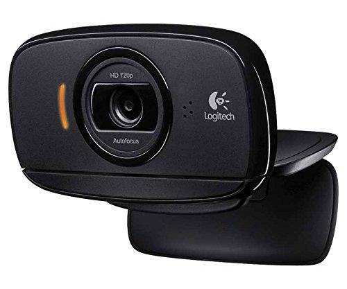 Logitech 960-000715 C525 Webcam - Black - USB 2.0 - 1 Pack(s) - 8 Megapixel Interpolated - 1280 x 720 Video - Auto-focus - Widescreen - Microphone -
