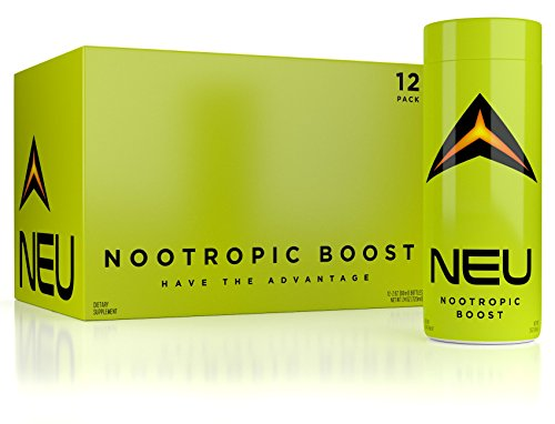 STRONGEST NOOTROPIC AVAILABLE – Nootropic Energy Shots – NEU – Improve Focus, Clarity, & Motivation – BPA-Free Bottles – USA Made