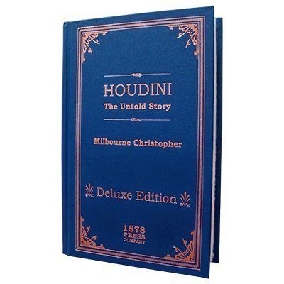 MMS Houdini - The Untold Story (Deluxe Edition) by Milbourne Christopher - Book by MMS