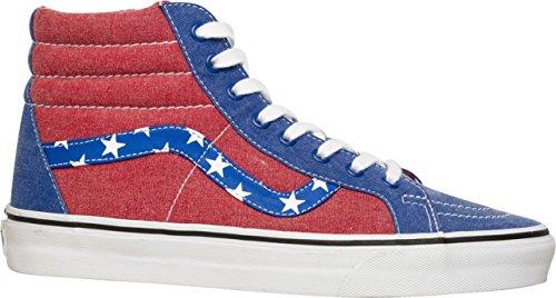 Espadrille Espadrille Espadrille 0 0 0 0 Chaussures Rayures Red Za0fp3 Hi van livrance Doren Patineur toiles Bleu Vans Sk8 vl De 5vqtc