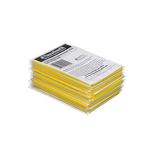 TheraBand Resistance Bands, 5 Foot, 15 Count Professional Latex Elastic Bands For Upper & Lower Body Exercise, Physical Therapy, Pilates, Home Workouts, Rehab, Yellow, Thin, Beginner Level 2 by TheraBand (Image #5)