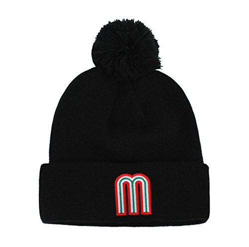 New Era Toque (NEW ERA Men's Hat World Baseball Classic Mexico Beanie Black Knit Cap)