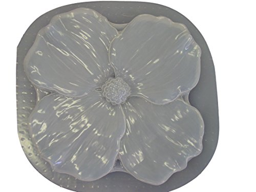 Dogwood Flower Concrete Plaster Stepping Stone Mold 1137