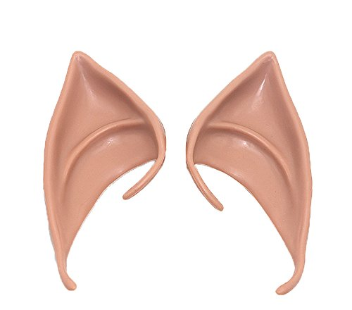 Dark Elf Cosplay Costume (CN'Dragon Cosplay Elf Ears Halloween Party Costume Accessories Dark Skin)