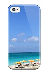 For Iphone 4/4s Tpu Phone Case Cover(grace Bay )