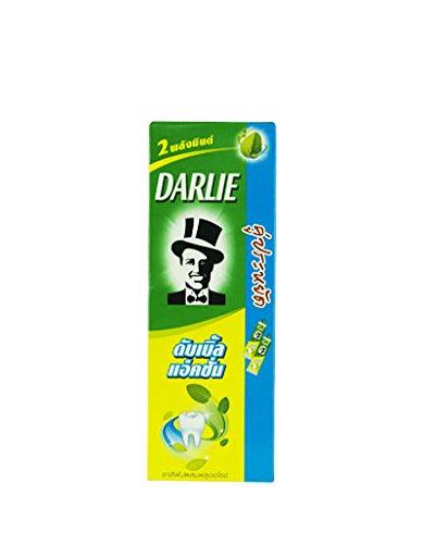 Darlie 2 Mint Powers Plus Fluoride Protection Double Action Toothpaste 170 g. / 2 PCS. (340 - Salt Optics Uk