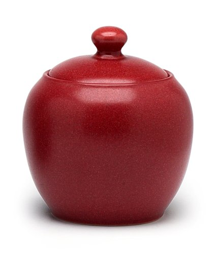 Noritake Colorwave Sugar Bowl with Cover, Raspberry