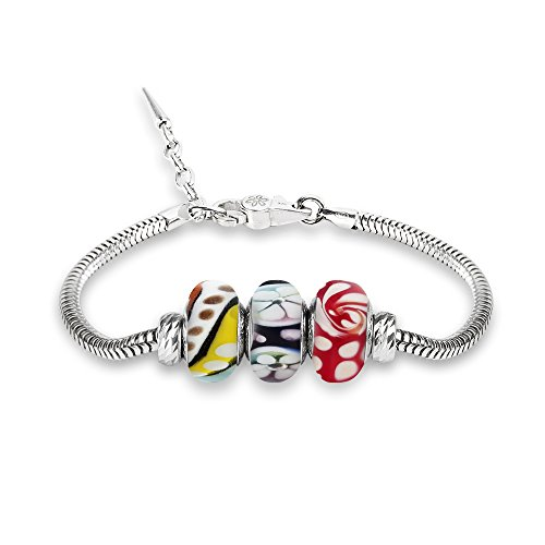 Byou Beads and Jewels - Bracelet En Argent Sterling 925 100% Made In Italy