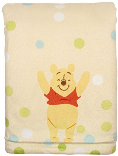 Winnie-The-Pooh-Printed-Velboa-Baby-Blanket