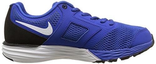 Sneakers Nike Boys Tri Fusion Da Corsa Eur 4.5y Nero Con Blu Nero Con Blu