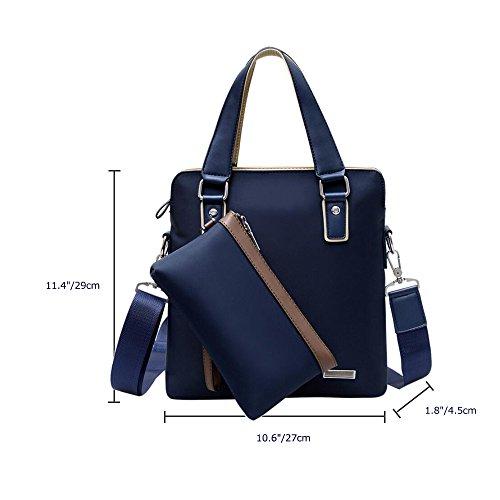 Gabriera - Bolso al hombro para hombre, Square-Blue (azul) - WLWL-021-SWB-01 Square-Blue