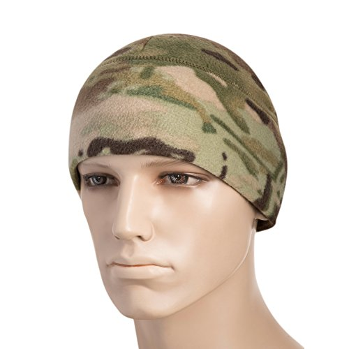 M-Tac Watch Cap Fleece 260 Slimtex Mens Winter Hat Military Tactical Skull Cap Beanie (Camo, X-Large)