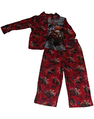 Baby-boys Cars Mud Machines Coat Pajamas