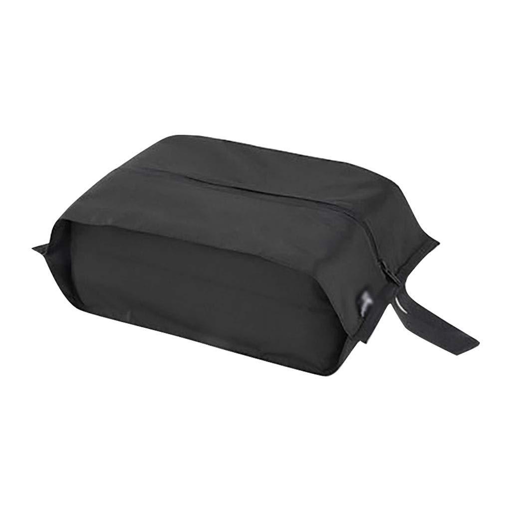 Shoe rack HUYP Women's Shoes Storage Bag Children's Student Storage Bag Travel Fashion Lightweight (Color : Black)