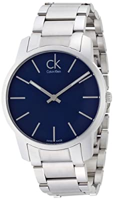 Calvin Klein City K2G2114N Mens Wristwatch Very flat