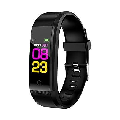 SJUTALR 2019 Smart Wristband Blood Pressure Heart Rate Monitor Pedometer waterproof Sport Bracelet For men women smart band Estimated Price £29.98 -