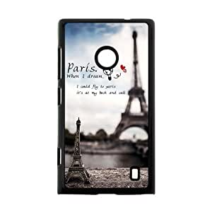 Canting_Good,Eiffel Tower, Custom Case for Nokia Lumia 520