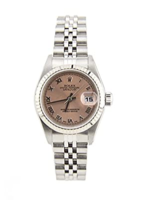 Rolex Datejust Stainless Steel & 18K White Gold Automatic Womens Watch 79174 (Certified Pre-owned) by Rolex