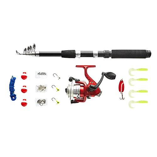 Kit para Pesca Infantil Vara Molinete 31 Acessórios VP-05 Western