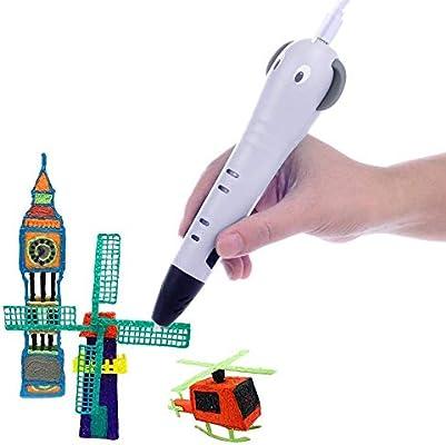 Pluma de impresión inteligente Plumas 3D for niños pluma ...