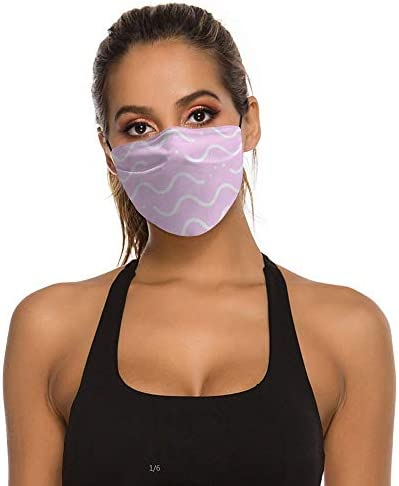 Wave (5) Nicht wegwerfbar, verhindert Staub, Nebel, Erwachsene m?nnliche und weibliche Tr?pfchen, atmungsaktives Baumwolltuch, leicht zu atmen, waschbar und wiederverwendbar