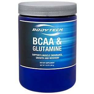 BodyTech BCAA Glutamine Supports Muscle Endurance, Growth Recovery with Essential Amino Acids (14.01 Ounce Powder) Review