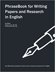 english for writing research papers amazon The phrasebook for writing papers and research contains over 5000 words and phrases to help you write, present and publish in english.