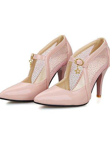 cn31 Rosa pink pink us2 GGX us2 Fiesta Blanco Vestido Tacones Oro pink Tacón Stiletto Tacones cn31 Semicuero uk1 Noche us9 de 5 eu32 5 mujer Almendra Zapatos uk1 eu32 cn41 uk7 Puntiagudos y eu40 qOCqfwTU