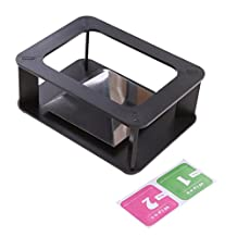 MonkeyJack Universal 3D Holographic Stand Pyramid Projector Phone Hologram Box For All 3.5''~5.5'' Smart Phones Black