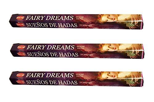 人気定番 Hem B07JKVF5R2 Fairy 20 Dreams お香スティック 20 x 3 x B07JKVF5R2, ペット仏壇仏具のディアペット:1c3724ea --- egreensolutions.ca