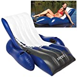 Intex Floating Recliner Inflatable Lounge, 71in X 53in