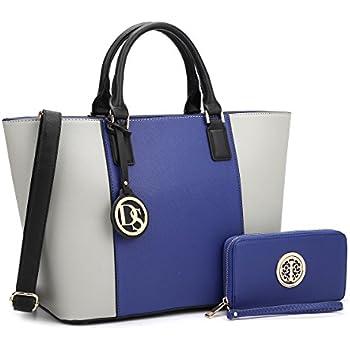6e4b7608fabdf4 DASEIN Women's Handbags Purses Large Tote Shoulder Bag Top Handle Satchel  Bag for Work