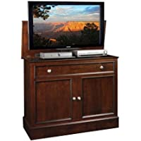 TV Lift Cabinet AT006078 Traveler TV Lift Cabinet (Rich Tobacco)