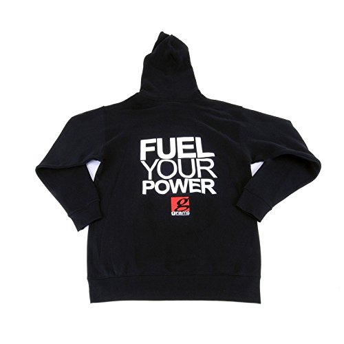 Black, X-Large Grams Pullover Hooded Sweatshirt