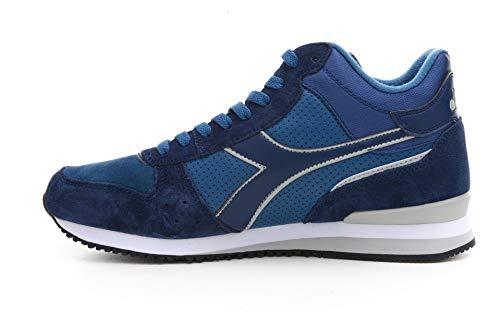Nero Malone Collo da 172355 Sneaker Blu alto Scarpa 80012 Diadora 60076 Mid uomo qYzwnPA