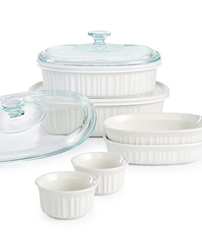 White Bakeware Set - 8
