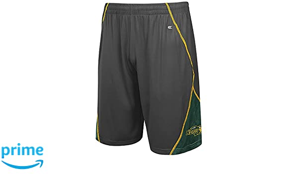 Charcoal Colosseum Mens NCAA North Dakota State Bison Basketball Shorts