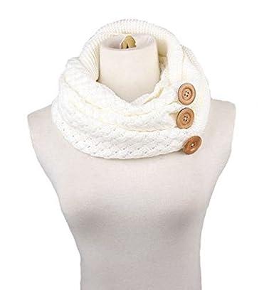 Tuopuda Sciarpa Donna Inverno donna Inverni scialle maglione Wrap Maglia Scialle Inverno Donna Poncho Donna Invernale collo sciarpa