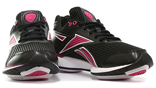 Reebok Easytone Reecommit Womens Black Fitness/Toning Shoes, Size 5.5