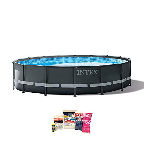 Intex 16ft x 48in Ultra XTR Frame Above Ground Pool w/Pump & Cleaning Kit