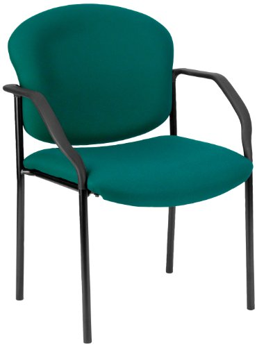 (OFM 404-802 Manor Series Deluxe Upholstered Stacking Guest Chair, Teal)