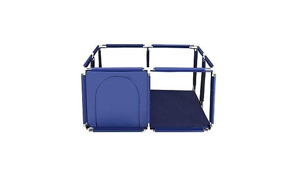Azul bebé Parque infantil, Exqline portable de la seguridad de los niños parque infantil for los niños y los bebés, Asamblea Imple fácilmente plegable: Amazon.es: Bebé