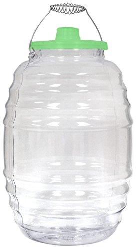 Eleganceinlife Vitrolero Plastic Aguas Frescas 5 Gallon Water Container For Party Chose Your Favorite Color (Green)